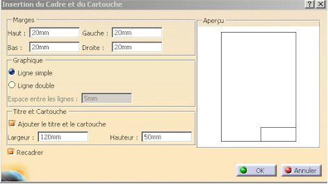 cartouche catia v5
